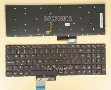 NEW for Lenovo Erazer Y50 Series Keyboard Backlit No FRAME UK