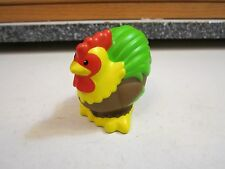 Fisher Price Little People farm barn NEW rooster chicken hen colorful egg coop