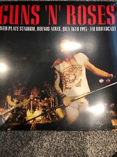 GUNS 'N' ROSES Live River Plate Stadium Buenos Aires Fm broadcast - New vinyl LP