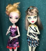 Lot Of 2 Monster High Lagoona Blue & Frankie Stein Dolls