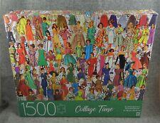 Fashion Memories Collage Time 1500 Piece Puzzle Milton Bradley