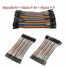 120PCS To Female Male To Male Jumper Wire Dupont Line Ribbon Cable Arduino