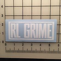 "RL Grime White 5"" Wide Vinyl Decal Sticker - BOGO"