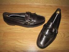 NWOB Dexter Brown Belted Kilttie Loafers - 13M European 47