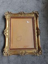 Rare cadre ancien bois sculpté doré Montparnasse  - Standard 6F 41 cm x 33 cm