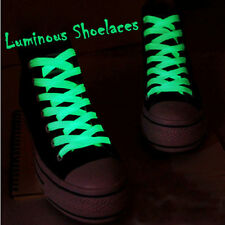 White 120CM Luminous Glow In The Dark Shoelace Athletic Sport Shoe Laces