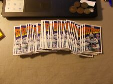 LOT OF 51 1994 NFL POCKET SCHEDULES FOLDED EMMITT SMITH PICTURE
