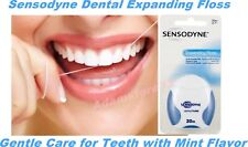 Sensodyne Dental Expanding Floss 30 m Gentle Care for Teeth with Mint Flavor NEW