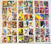(MA5) Valiant Trading Card Set 10-109 (incomplete)