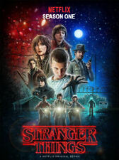 Stranger Things Season 1 (DVD) REGION 1 DVD (USA) IN STOCK READY TO POST