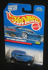 Hot Wheels 1999 #996 '32 Ford Delivery Mtflk Blue Black Silver WSPs 23806
