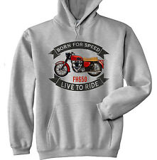 ARIEL FH650 HUNTMASTER - GREY HOODIE - ALL SIZES IN STOCK