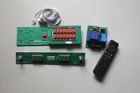 Balanced version remote control volume board  Pure Relay + resistors     C8-33