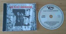 The Best Of The Velvet Underground 1989 German CD Album Verve Classic Art Rock
