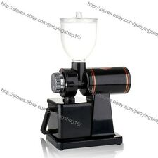 Home Commercial Electric Automatic Espresso Coffee Grinder Burr Mill Machine