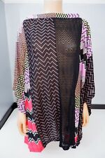 Missoni Kaftan Dress Cover Up Knitted Size 38 Uk 10 Vgc