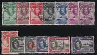Gold Coast Sc #115-27 (1938-41) King George VI Pictorial Set VF Used