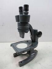 Vintage Bausch Amp Lomb Stereo Zoom Lab Microscope With 2 Objective Lenses Tilt Base