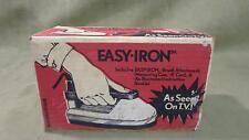 "Vintage Antique Retro Handheld ""Easy Iron"" In Original Package Working"