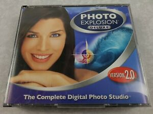Photo Explosion Deluxe 2.0 The Complete Digital Photo Studio 4 Disc CD-ROM