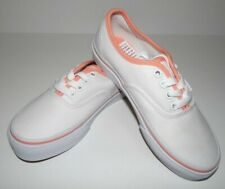 New Vans Youth Girls Authentic Canvas Athletic Shoes US 11 EU 27 UK 12.5