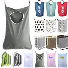 Laundry Bin Large Foldable Wash Basket Bag Storage Hamper Clothes Washing Small