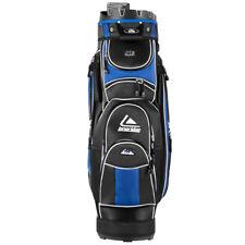 Golf Cart Bag 14 Way Organizer Divider Top 12 Pockets for Extra Storage Blue