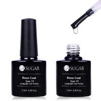 UR SUGAR 7.5ml Base Coat No Wipe Top Coat Soak Off UV & LED Nail Gel Polish