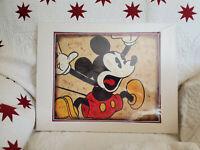 Disney Parks WonderGround Deluxe Print Mickey Mouse Aaah! by Joe Kaminski NEW