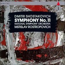 Shostakovich: Symphony No. 11; 1993 CD, Mstislav Rostropovich, Germany, Teldec N