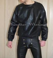 Leder-Pullover Lederpullover Lederpulli leather