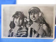 cpa egypt orientaliste filles seins nus