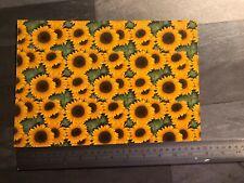 FlowersFor Glass Fusing  - Sunflower Sheet
