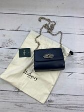 £595 Genuine Mulberry Crossbody bag, Mini Lily Bag, Mulberry Chain Purse, NEW