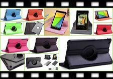 360° Smart Tasche Etui Case Google Nexus 7 FHD 7.2 2013 Flip Schutz hülle Folie