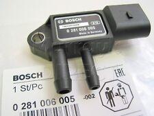 BOSCH OEM Exhaust Pressure DPF Sensor Audi A4 A5 A6 Q7 VW T5 2.0 TDI 059906051A