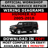 # OFFICIAL WORKSHOP Service Repair MANUAL for HUMMER H3 2005-2010 +WIRING  #