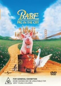 Babe - Pig In The City (DVD, 2002)    500
