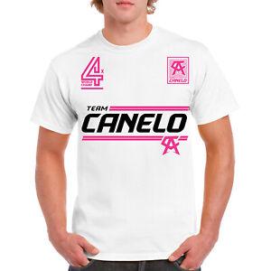 Canelo Alvarez T Shirt ,Boxing 4X Champ,WBC World Champion Canelo Team White