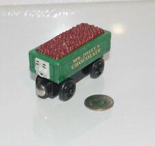 Thomas & Friends Wooden Railway Tank Engine Train Mr. Jolly's Chocolate Rickety