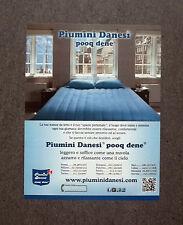 H621 - Advertising Pubblicità -2013- PIUMINI DANESI , POOQ DENE