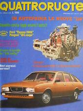 Quattroruote 244 1976 Le nuove 128. Nuova Lancia 2500cc. La 131 Rally [Q.15]