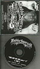 BUBBA SPARXXX & RAY J She Got Me Like w/ CLEAN & INSTRUMENTAL PROMO DJ CD single