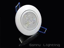 La Venta!! 3w Frío / cálido blanco LED de alimentación empotrada de techo abajo bombilla Spot Luz lámpara