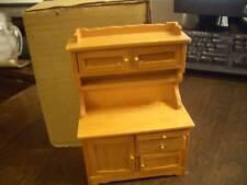 New ListingConcord Dollhouse Furniture Kitchen Hutch Cabinet #6028, M/Ob!