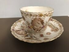 Victorian longest reign. Commemorative Cup And Saucer
