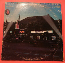 BLUE NOTE LIVE AT THE ROXY 2XLP 1976 C. MCRAE BYRD MOUZON NICE COND! VG/VG!!A