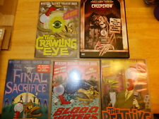 4 Mystery Science Theater and Creepshow DVD