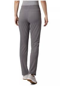 Columbia Omni-Shield Pants Womens Size Medium Gray Straight Leg Stretch Pull On