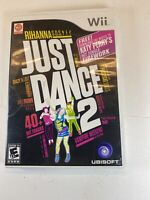 Just Dance 2 (Nintendo Wii, 2010) complete In Box With Manuals